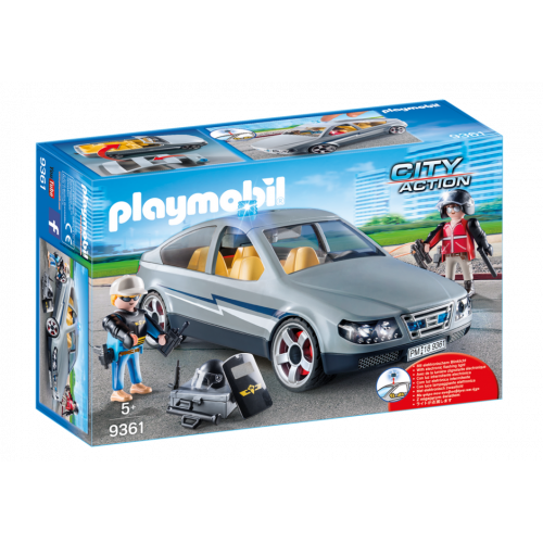 Playmobil City Action 9361 SWAT Undercover Car
