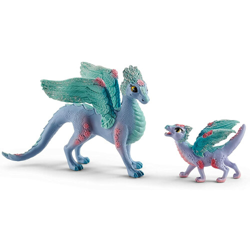 Schleich Bayala 70592 Blossom Dragon Mother and Child