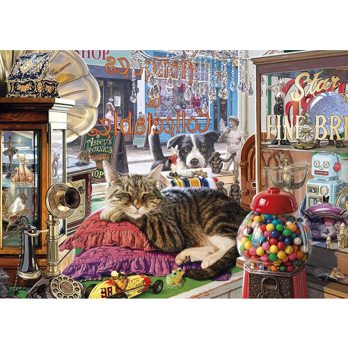 Gibsons Abbey's Antique Shop 1000pc Puzzle