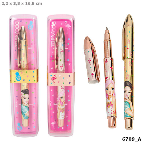 Depesche Top Model Tropical Ballpen In Giftbox-Mijie
