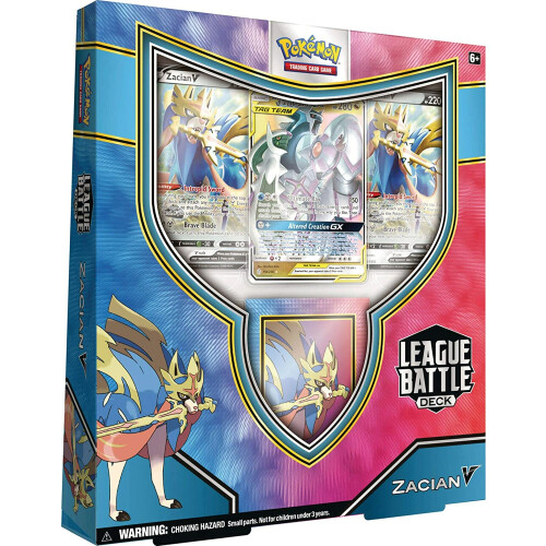 Pokemon TCG Zacian V League Battle Deck