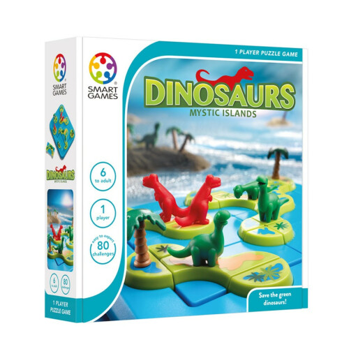 Puzzle Game - Dinosaurs Mystic Islands