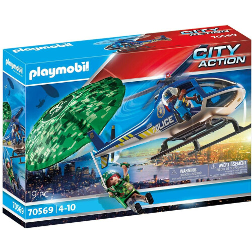 Playmobil  70569 City Action Police Parachute Search