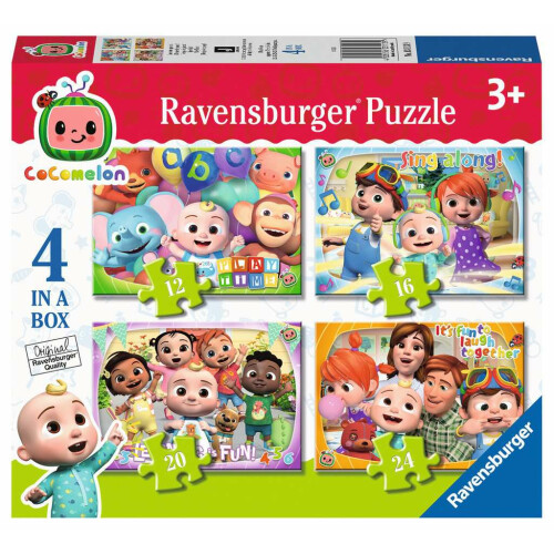 Ravensburger 4 Puzzles in a Box Cocomelon