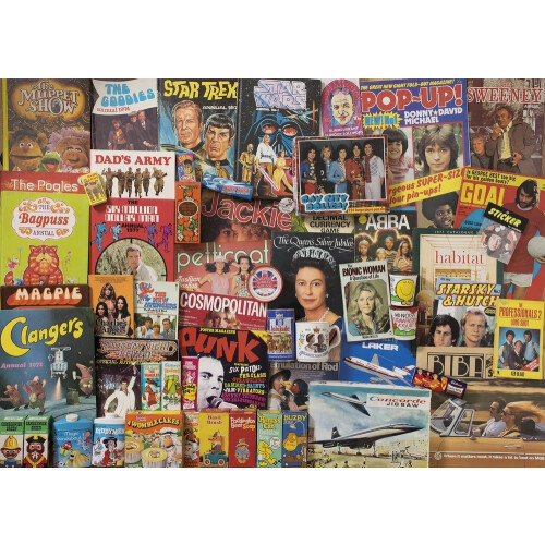 Gibsons Spirit of the 70s 1000pc Puzzle