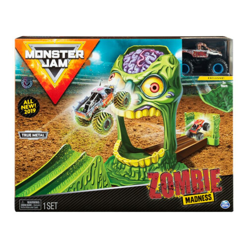 Monster Jam Zombie Madness Playset