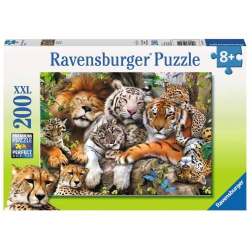 Ravensburger 200 XXL Piece Puzzle Big Cat Nap
