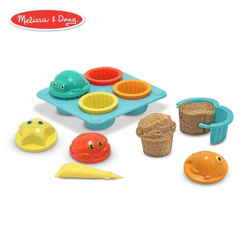 Melissa & Doug Sunny Patch Sand Cupcake Set