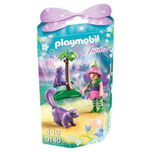 Playmobil 9140 Fairies Girl with Animal Friends