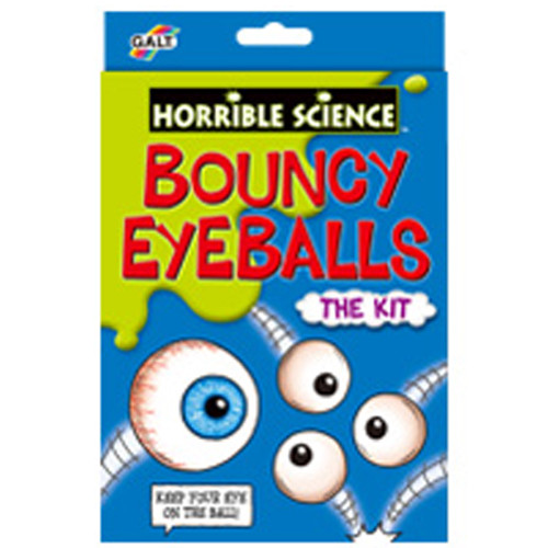 Galt Horrible Science Bouncy Eye Balls