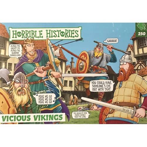 Horrible Histories - Vicious Vikings 250pc Puzzle