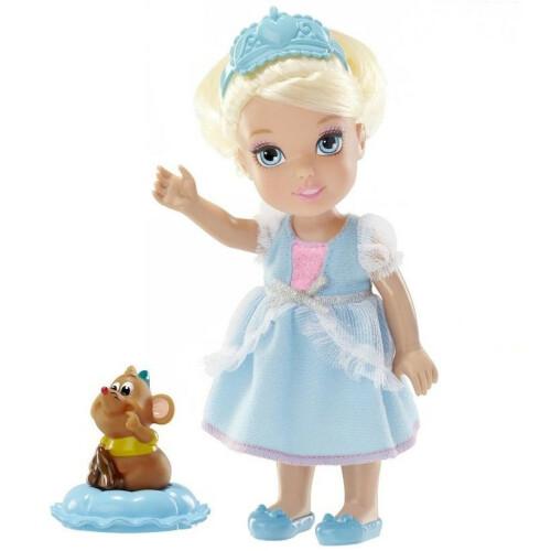 Disney Princess - Petite Cinderella & Gus Gus