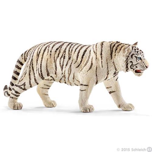 Schleich Wild Life 14731 Tiger, White