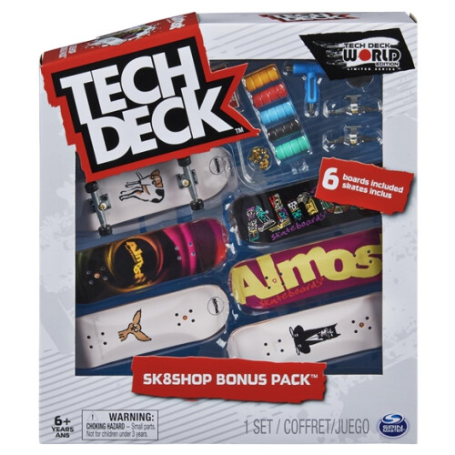 Tech Deck - World Edition - Sk8shop Bonus Pack - Almost