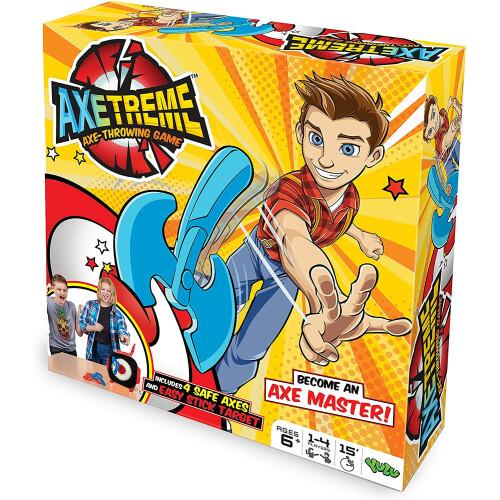 Axetreme Axe-Throwing Game