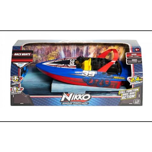 Nikko 1:16 Octo-Blue #39 Race Boat