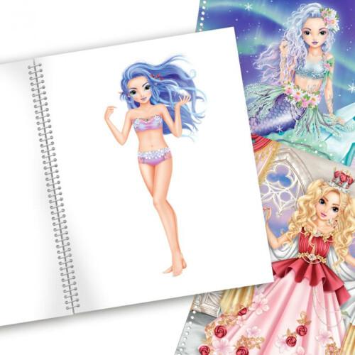 Depesche Fantasy Model Create Your Fantasy Model Colouring Book