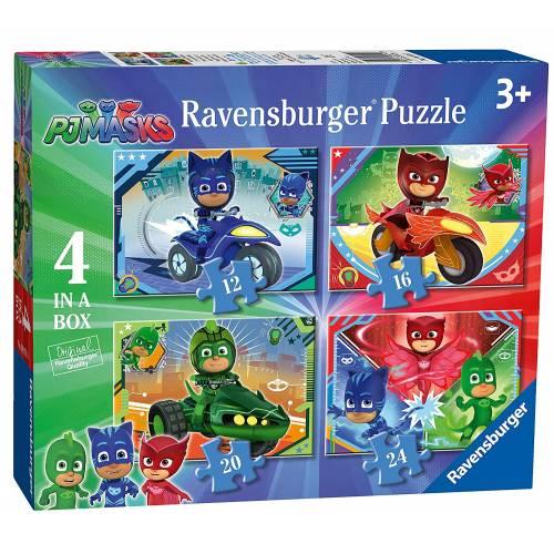 Ravensburger 4 Puzzles in a Box PJ Masks