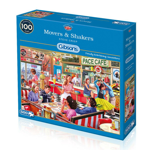 Gibsons Movers & Shakers 500pc Puzzle