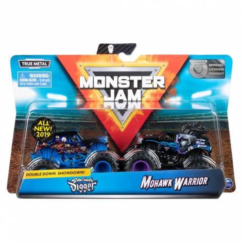 Monster Jam - 2 Pack - Son-uva Digger vs Mohawk Warrior