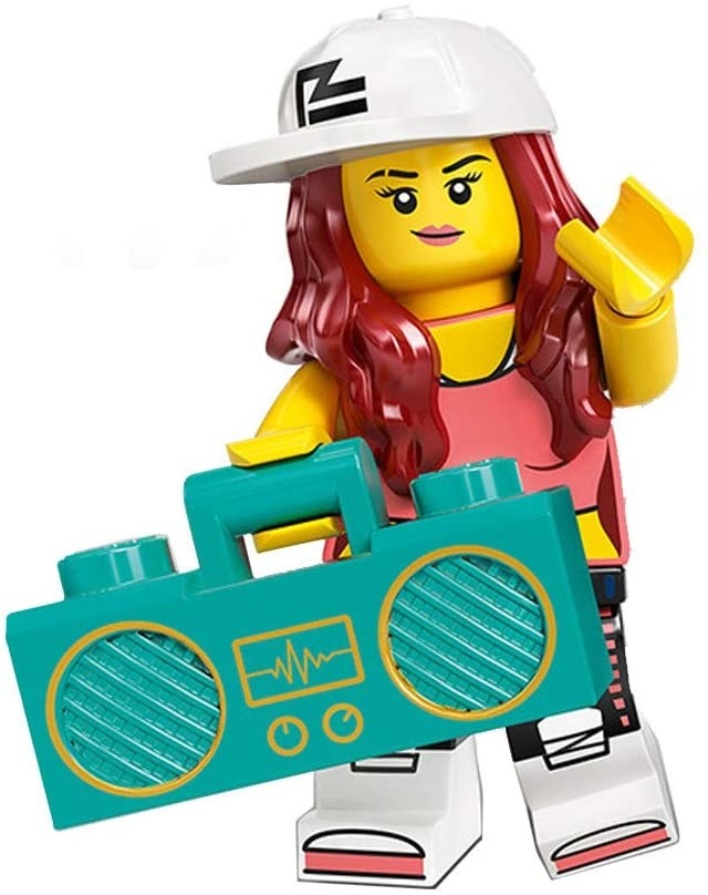 Brand New /& Sealed Breakdancer LEGO 71027 Minifigure Series 20