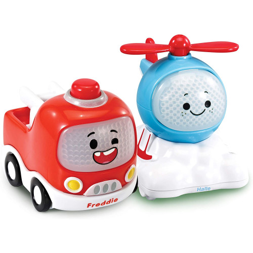 Vtech Toot-Toot Cory Carson 2 Mini Vehicle Pack - Freddie & Halle