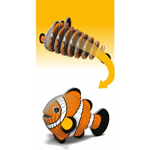 Eugy - 3D Model Craft Kit - Clownfish