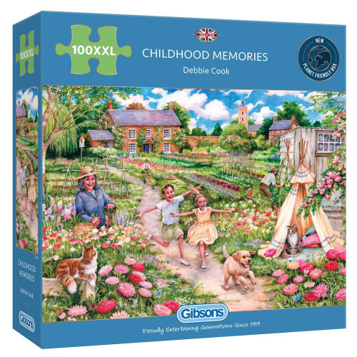 Gibsons  Childhood Memories 100pc XXL Puzzle