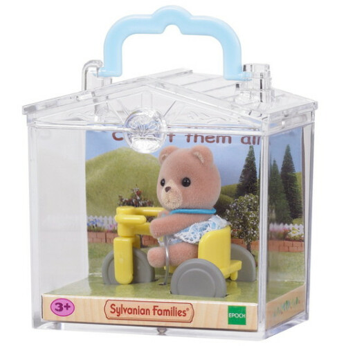 Sylvanian Families Baby Bear on Tricycle