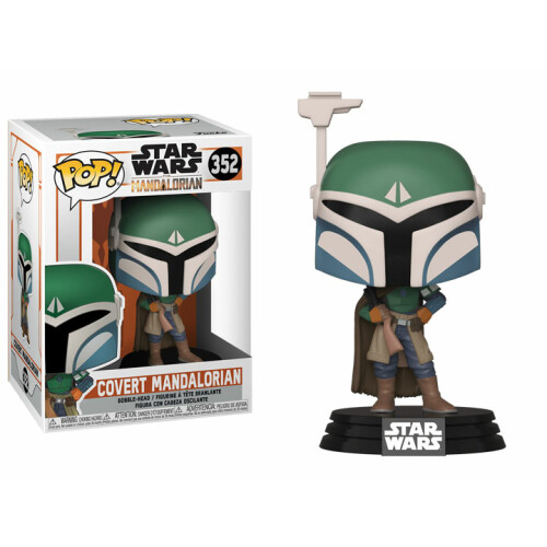 Funko Pop Vinyl - Star Wars The Mandalorian - Covert Mandalorian 352