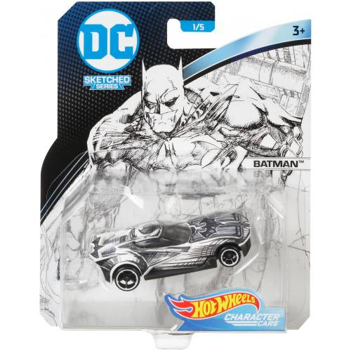 Hot Wheels DC Character Cars - Batman
