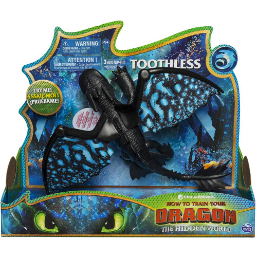Dragons Toothless Deluxe with Lights & Sounds