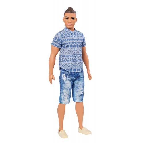 Barbie Fashionistas Ken Distressed Denim Doll