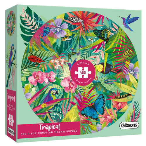 Gibsons 500 Piece Puzzle - Tropical