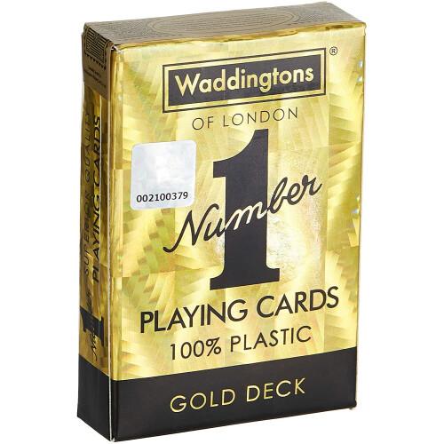 Waddingtons Playing Cards - Gold Deck