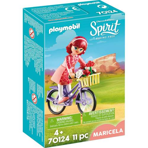 Playmobil Spirit 70124 Maricela with Bicycle