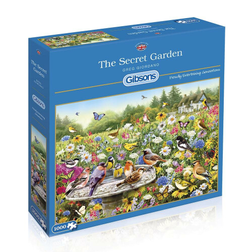 Gibsons The Secret Garden 1000pc Puzzle