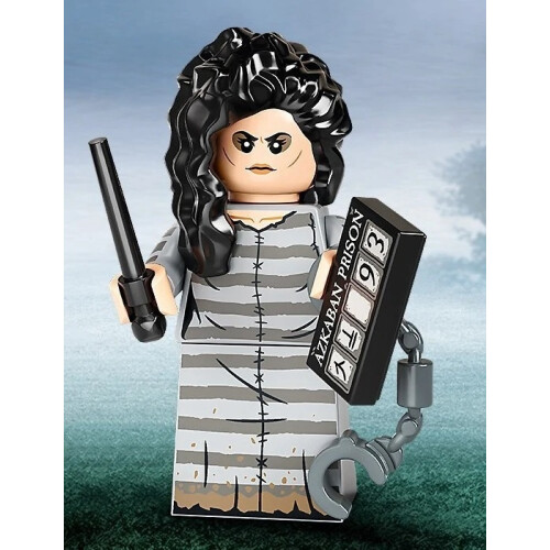 Lego 71028 Harry Potter Minifigure Series 2 - Bellatrix Lestrange