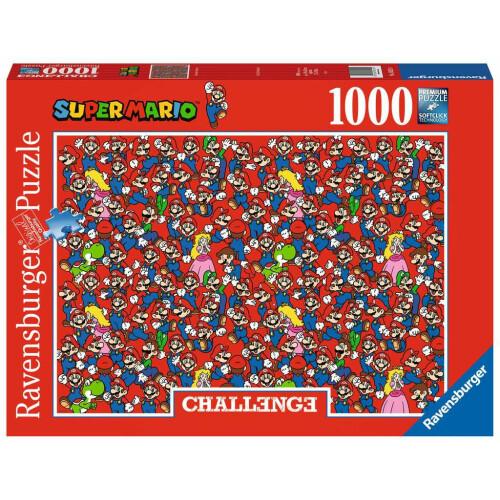 Ravensburger Challenge 1000pc Puzzle Super Mario Bros