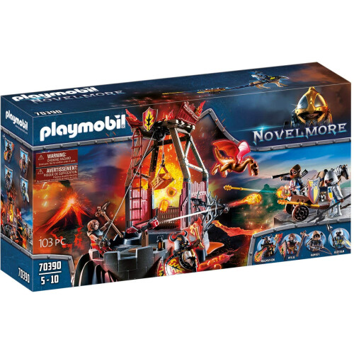 Playmobil 70390 Novelmore Burnham Raiders Lava Mine