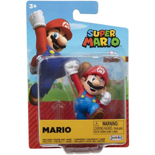 Super Mario 2.5 Inch Figures - Mario (Jumping)