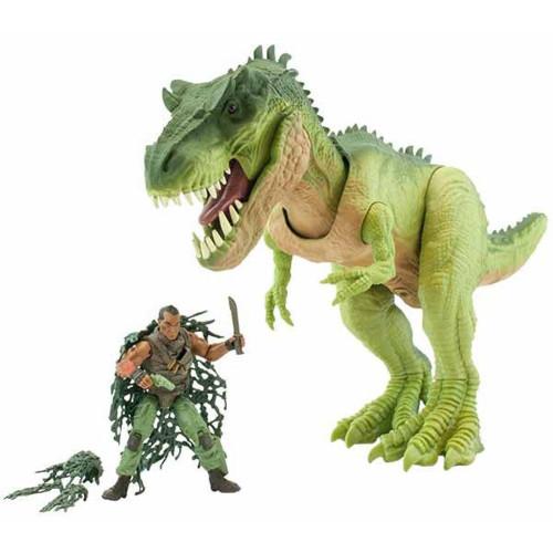 Jurassic Clash! Mega Monster Green T-rex