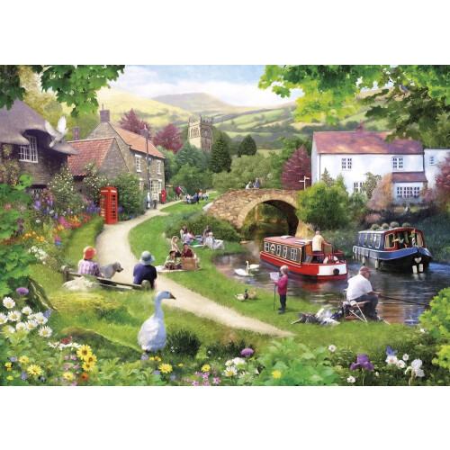 Gibsons Life in the Slow Lane 1000pc Puzzle