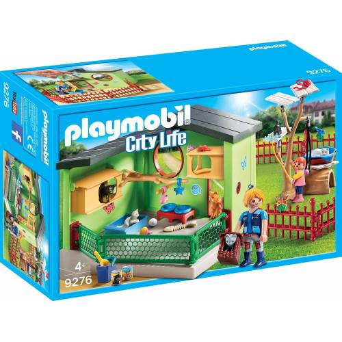Playmobil 9276 Pet Hotel Purrfect Stay Cat Boarding