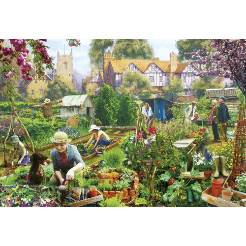 Gibsons Green Fingers 500pc Puzzle