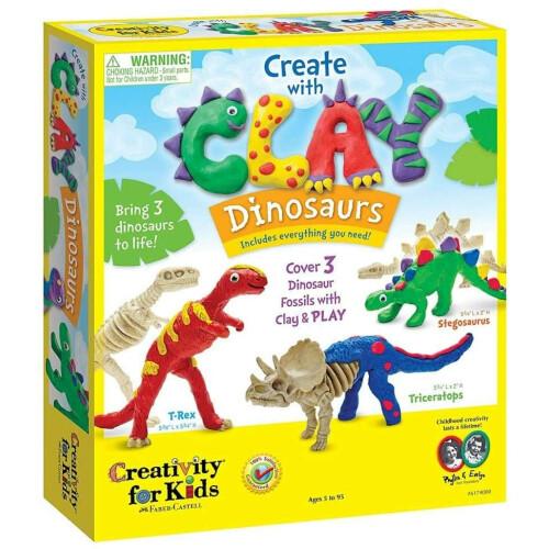 Create Clay Dinosaurs