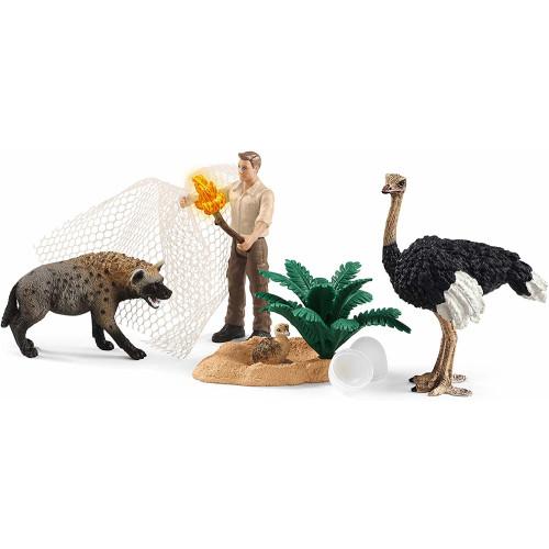 Schleich Wild Life 42504 Hyena Attack
