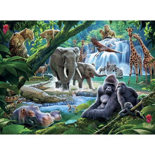 Ravensburger 100 XXL Piece Puzzle Jungle Animals