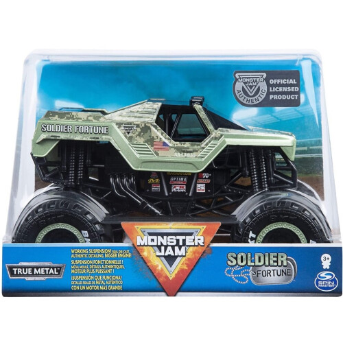 Monster Jam 1:24 - Soldier Fortune