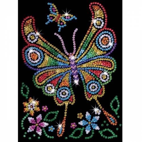 Sequin Art Ltd. Sequin Art Red Amber the Butterfly 1209
